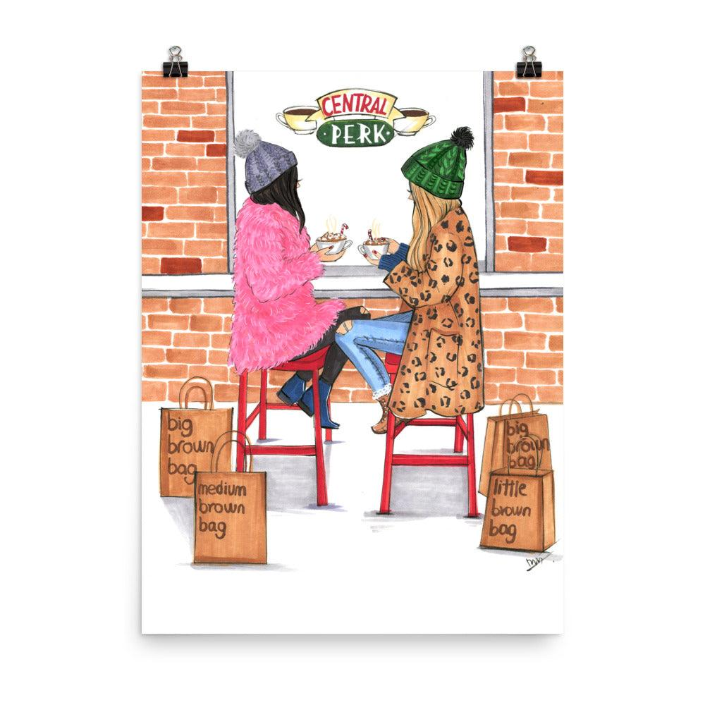 I Only Go to Bloomingdale's With You Art Print - Shop Rongrong