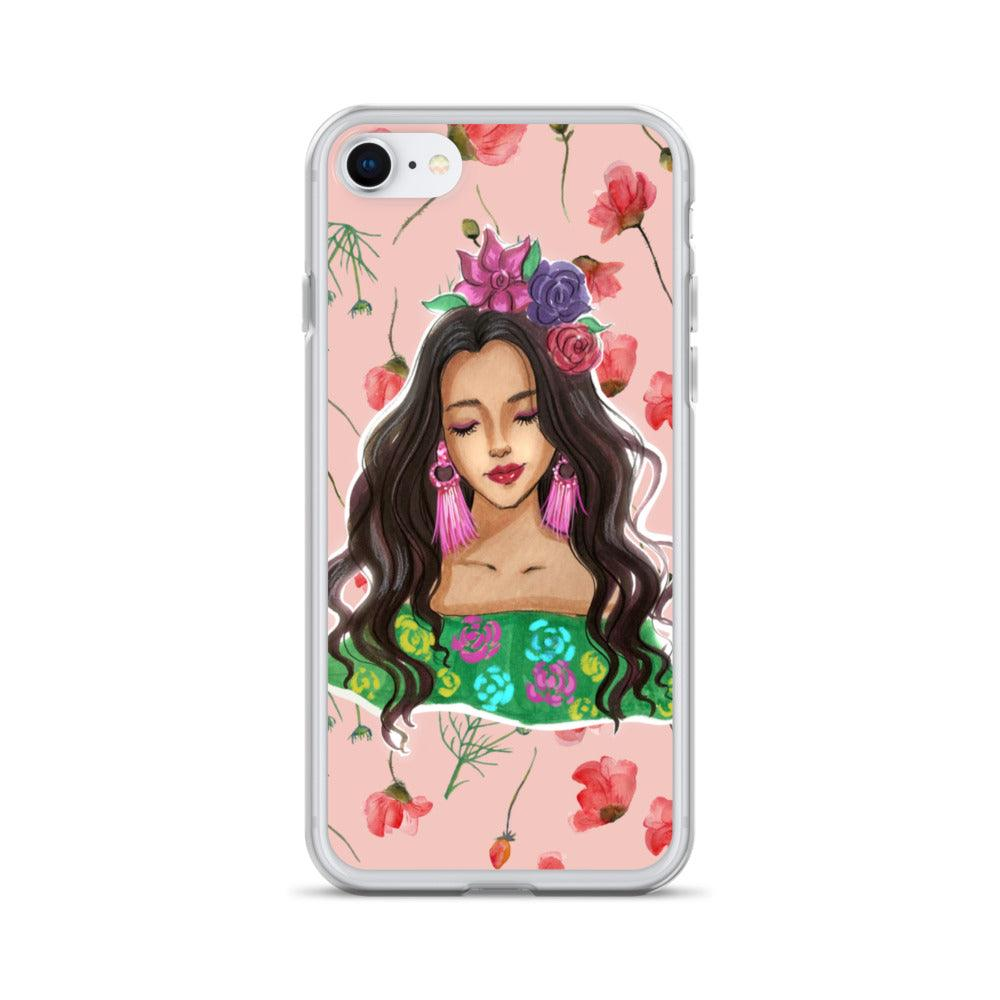 Karla, the flower child iPhone Case - Shop Rongrong