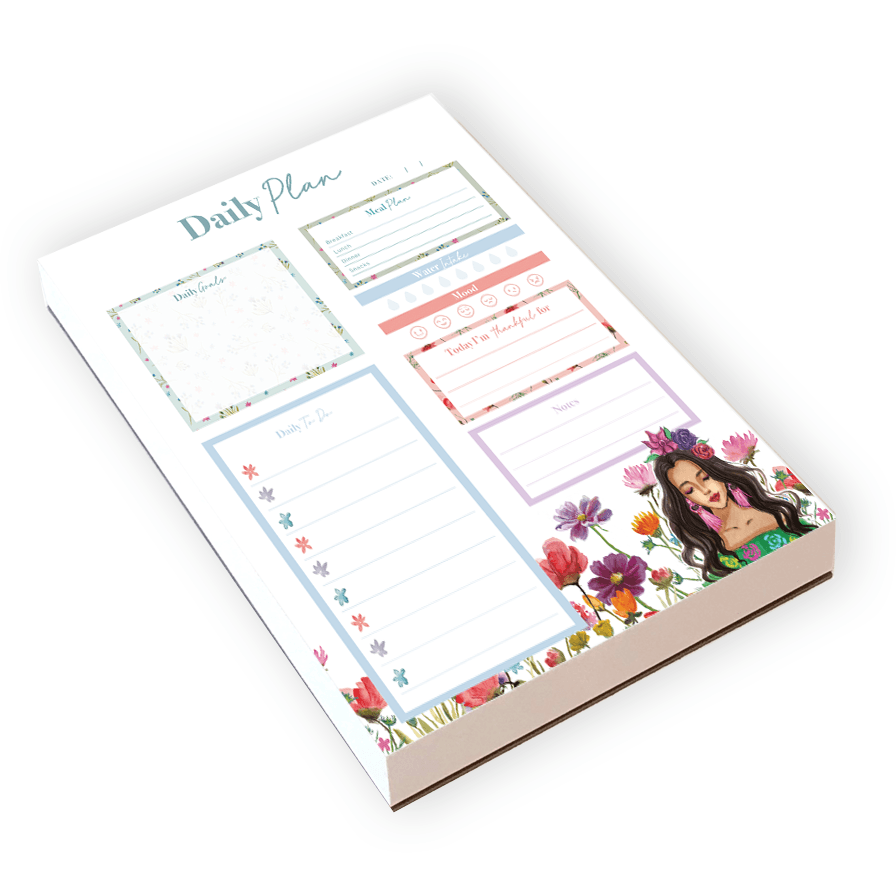 Flower child daily planner - Shop Rongrong
