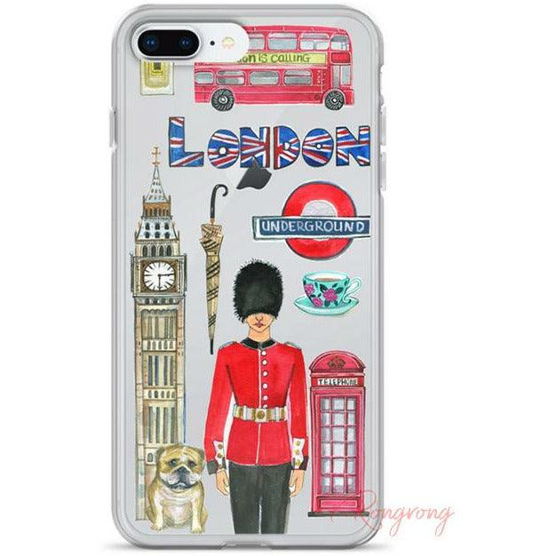 London Is Calling Phone Case