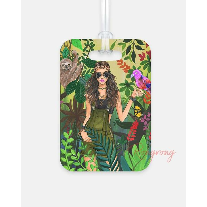 Lost in the Amazon Luggage Tag - Shop Rongrong