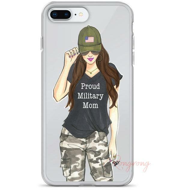 Military Mom Phone Case - Shop Rongrong