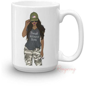 proud military mom mug gifts for military moms rongrong devoe