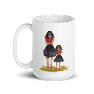 Mother of a Princess and Daughter of a Queen Coffee Mug