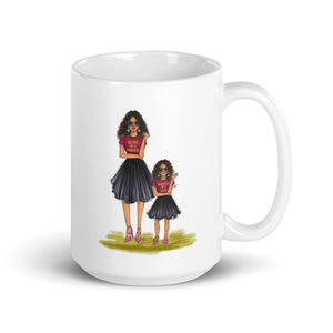 Mother of a Princess and Daughter of a Queen Coffee Mug - Shop Rongrong