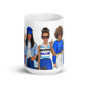 Zeta Phi Beta Sisters Coffee Mug - Shop Rongrong