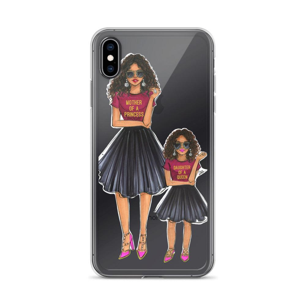 brand new 02088 6dc38 Mother of a Princess and Daughter of a Queen Phone Case