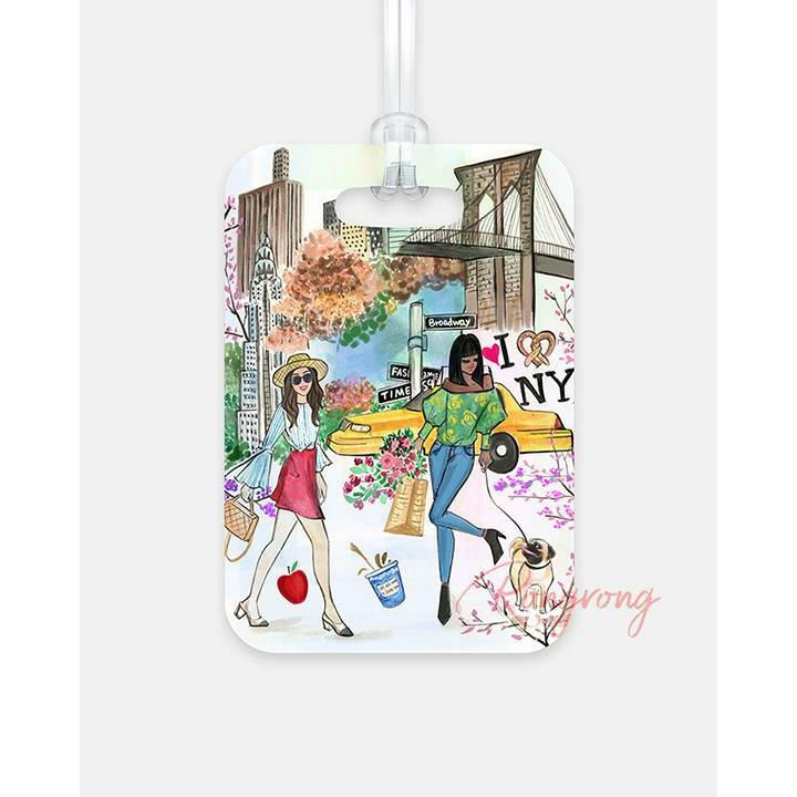 NYC in a Minute Luggage Tag - Shop Rongrong