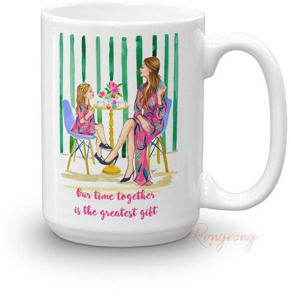 Our Time Together is the Greatest Gift Coffee Mug - Shop Rongrong