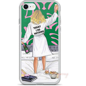 Today I do Nothing Phone Case - Shop Rongrong