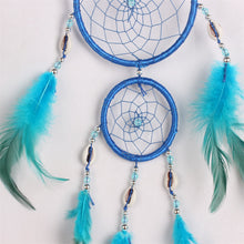 Hot Sale  Dreamcatcher Hand Made Antique Imitation Dream Catcher Net  Natural Feathers Wall Hanging Home Decoration Ornament