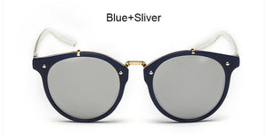 Women Vintage Round Sunglasses New Fashion Female Retro Sun Glasses