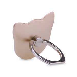 POWSTRO Cat Phone Ring Holder Finger Grip Phone Mount Universal 180 Degree Finger Grip Desk Stander for Cellphone Iphone Ipad