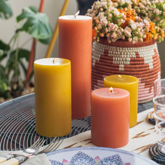 The Craft of our Art Pillar Candles