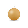 "Ball Candle Md 2 3/8"" 1 Piece Honeysuckle"