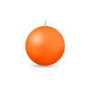 "Ball Candle Md 2 3/8"" 1 Piece Mango"