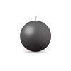 "Ball Candle Md 2 3/8"" 1 Piece Pewter"
