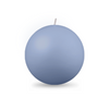 "Ball Candle Lg 3 1/8"" - 1 piece Cornflower"