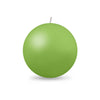 "Ball Candle Lg 3 1/8"" - 1 piece Lime Green"