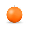 "Ball Candle Lg 3 1/8"" - 1 piece Mango"