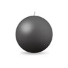 "Ball Candle Lg 3 1/8"" - 1 piece Pewter"