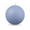"Ball Candle XL 4"" - 1 piece Cornflower"