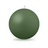 "Ball Candle XL 4"" - 1 piece Holly Green"