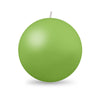 "Ball Candle XL 4"" - 1 piece Lime Green"