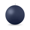 "Ball Candle XL 4"" - 1 piece Navy Blue"