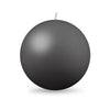 "Ball Candle XL 4"" - 1 piece Pewter"