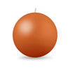 "Ball Candle XL 4"" - 1 piece Terra Cotta"
