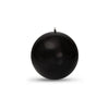 "Metallic Ball Candles - Medium 2 3/8"" Onyx"