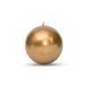 "Metallic Ball Candles - Medium 2 3/8"" Roman Bronze"