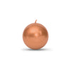 "Metallic Ball Candles -Small 2"" Copper"