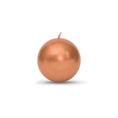 Metallic Ball Candles -Small 2""