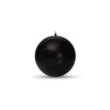 "Metallic Ball Candles -Small 2"" Onyx"