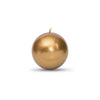"Metallic Ball Candles -Small 2"" Roman Bronze"