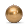 "Metallic Ball Candles - Extra Large 4"" Roman Bronze"