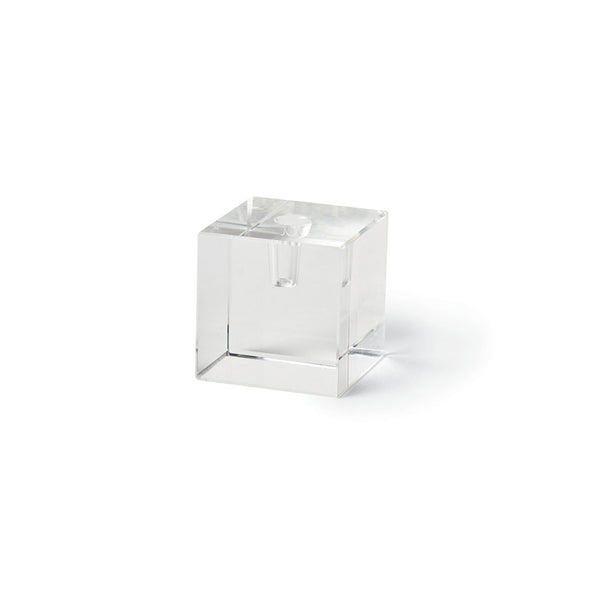 1/4-Inch Clear Glass Taper Holder