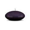 "Floating Candles Md 3"" - 1 piece Eggplant"