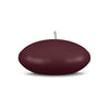"Floating Candles Md 3"" - 1 piece French Bordeaux"