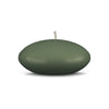 "Floating Candles Md 3"" - 1 piece Moss Green"