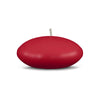 "Floating Candles Md 3"" - 1 piece Red"