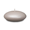 "Metallic Floating Candles - Medium 3"" Pearl"