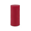 "Contemporary Pillar Candle 4"" x 9"" Red"