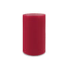 "Contemporary 3-Wick Pillar Candle 6"" x 9"" Red"