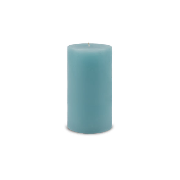 "Classic Pillar Candle 3"" x 6"" Aquamarine"