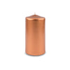 "Metallic Pillar Candle 3"" x 6"" Copper"