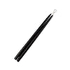"Black 15"" Taper Candle 1 Pair"