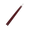 "French Brown 15"" Taper Candle 1 Pair"